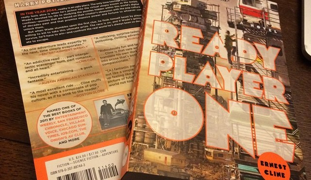 Ready Player One, Our First Fiction Library Addition